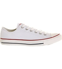 Converse All Star Low Top Trainers White Canvas