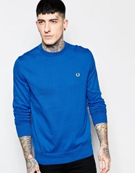Fred Perry Jumper With Crew Neck Prince Blue