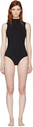 Ward Whillas Reversible Black And White Harrison Swimsuit