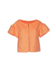 P.A.R.O.S.H. Suits And Jackets Blazers Women Orange