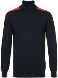 Guild Prime Turtleneck Top Blue