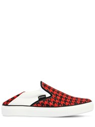 Vetements 20Mm Babouche Canvas Slip On Sneakers Red