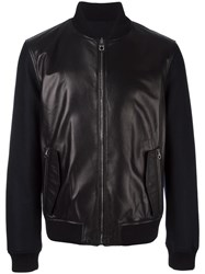 Salvatore Ferragamo Reversible Bomber Black