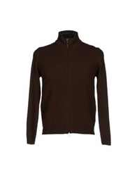 Henry Cotton's Cardigans Dark Brown