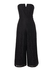 Therapy Lexie Lace Jumpsuit Black
