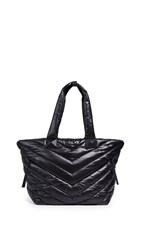 Mackage Rox Nylon Tote Black Nickel
