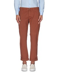 Siviglia White Trousers Casual Trousers Men Cocoa