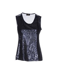 Duck Farm Topwear Tops Women Dark Blue