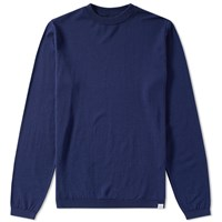 Norse Projects Sigfred Merino Crew Knit Blue