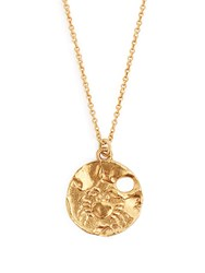 Alighieri Cancer Gold Plated Necklace