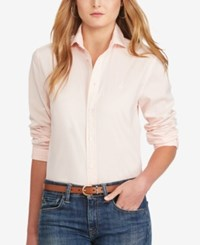 Polo Ralph Lauren Relaxed Fit Long Sleeve Shirt Rose Quartz