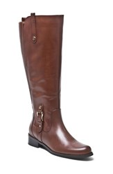 Women's Blondo 'Venise' Waterproof Leather Riding Boot Brown Leather