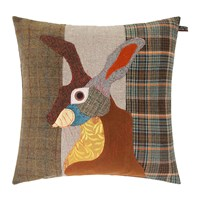 Carola Van Dyke Brown Hare Cushion 50X50cm