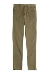 7 For All Mankind Seven For All Mankind Cotton Chinos Green