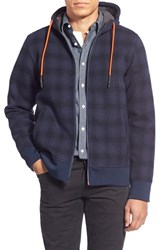 The North Face Men's 'Outbound Plaid' Water Repellent Full Zip Fleece Hoodie
