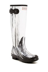 Hunter Original Nightfall Waterproof Wellington Boot White