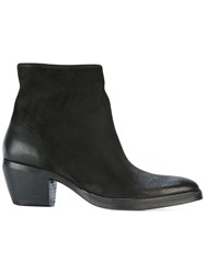 The Last Conspiracy Cowboy Ankle Boots Black