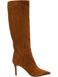 Barbara Bui Knee High Boots Nude And Neutrals