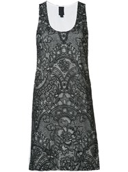 Vera Wang Mini Tank Dress Black