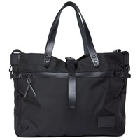 Nanamica Cordura Briefcase All Black Nylon