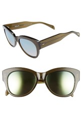 Salt Women's Hammen 54Mm Polarized Cat Eye Sunglasses Dried Herb