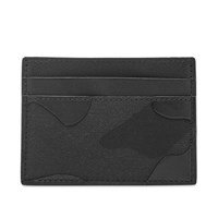 Valentino Bonded Camunoir Card Holder Black