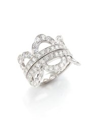 Hearts On Fire Lorelei Diamond And 18K White Gold Ring