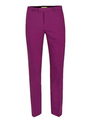 Topman Noose And Monkey Pink Skinny Fit Suit Trousers