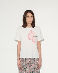 Julien David Flower Print T Shirt