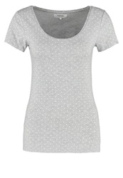 Zalando Essentials Basic Tshirt Light Grey White Mottled Light Grey