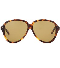 Acne Studios Charge Sunglasses Brown