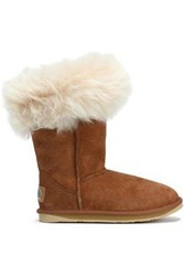 Australia Luxe Collective Foxy Shearling Boots Camel