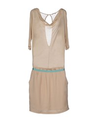 Phard Dresses Knee Length Dresses Women Beige