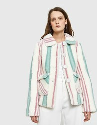Saks Potts Lucy Mint Rose Jacket Mint Rose