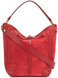 Jerome Dreyfuss Tanguy Tote Red