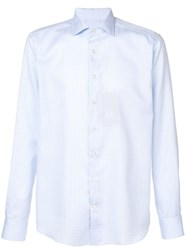 Etro Fitted Shirt Blue