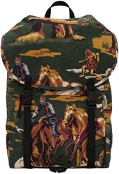 Stella Mccartney Multicolor Textile Horse Backpack