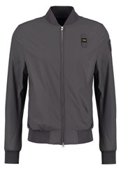 Blauer Bomber Jacket Dark Grey