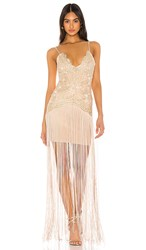 Elliatt Amour Dress In Taupe. Moonstone