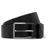 Hugo Boss 3.5Cm Black Sammy Leather Belt Black