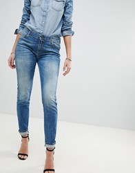 Replay Katewin Slim Jeans Mid Wash Blue
