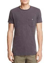 Todd Snyder Classic Pocket Tee Charcoal