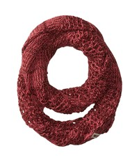 The North Face Knitting Club Scarf Barolo Red Honeysuckle Pink Scarves