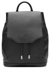 Rag And Bone Rag And Bone Pilot Leather Backpack Black
