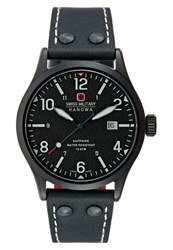 Swiss Military Hanowa Undercover Watch Black