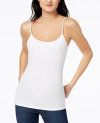 Maison Jules Shelf Bra Camisole Created For Macy's Bright White