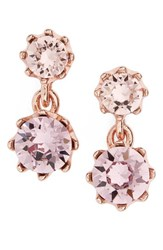 Ted Baker Women's Conolle Crystal Drop Earrings Pink