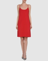 Colmar Short Dresses Red