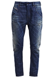 Diesel Fayza Relaxed Fit Jeans 0837A Dark Blue