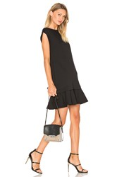 Mcq By Alexander Mcqueen Peplum Sweat Dress Black